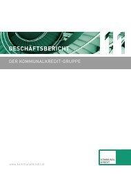 Geschäftsbericht - Kommunalkredit Austria AG