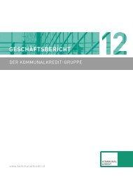 Geschäftsbericht 2012 - Kommunalkredit Austria AG