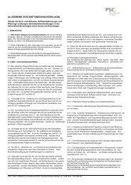 ALLGEMEINE GESCHÄFTSBEDINGUNGEN (AGB) - Kommunalnet
