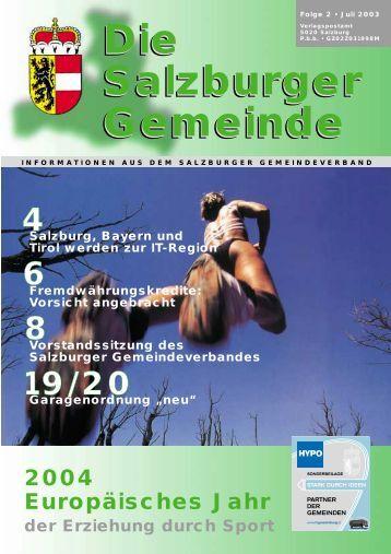 Die Salzburger Gemeinde - Kommunalnet.at