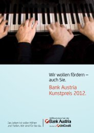 Bank Austria Kunstpreis 2012.