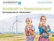 Präsentation Windkraft in Österreich - Kommunalnet