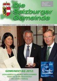 Salzburger Gemeindetag 2012 - Kommunalnet