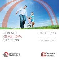 Einladung zum 60. Österreichischen Gemeindetag - Kommunalnet