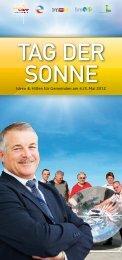 Aktionsideen Verein Austria Solar - Tag der Sonne - Kommunalnet