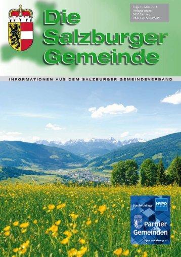 Folge 1 • März 2011 Verlagspostamt 5020 Salzburg ... - Kommunalnet