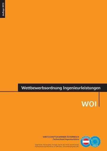 WOI 2013 - Ingenieurbüros