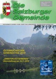 ÖSTERREICHISCHER GEMEINDETAG 2010 - Kommunalnet