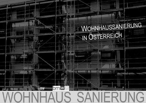 Broschüre Sanierung - IIBW 2013 - Kommunalnet