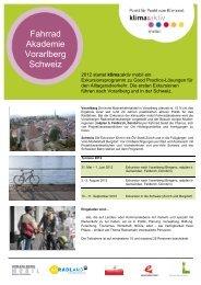 Fahrrad Akademie Vorarlberg Schweiz - Kommunalnet