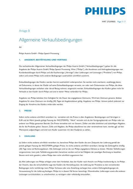 Allgemeine Verkaufsbedingungen - Kommunalnet.at