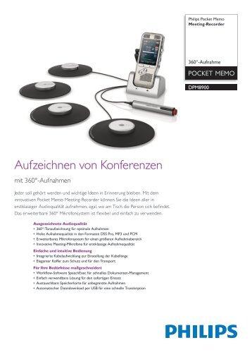 Datenblatt Meeting-Recorder - Kommunalnet