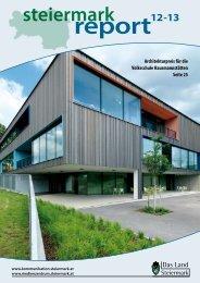 Steiermark Report Dezember 2013 - doppelseitige Ansicht