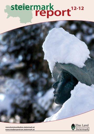 Steiermark Report Dezember 2012 - einseitige Ansicht (für kleinere ...