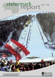 Steiermark Report Jänner 2010 - doppelseitige Ansicht (für größere