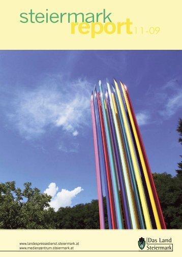 Steiermark Report November 2009 - einseitige Ansicht (für kleinere ...