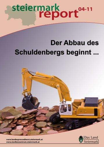 Steiermark Report April 2011 - doppelseitige Ansicht (für größere ...
