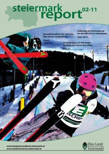 Steiermark Report Februar 2011 - doppelseitige Ansicht (für größere ...