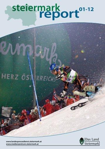 Steiermark Report Jänner 2012 - doppelseitige Ansicht (für größere ...