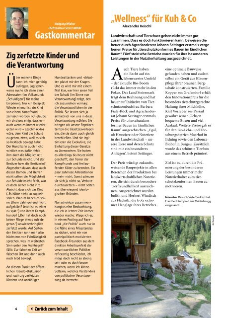 Steiermark Report Oktober 2010 - einseitige Ansicht (für kleinere ...