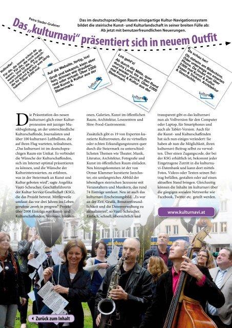 Steiermark Report Juni 2013 - einseitige Ansicht - Kommunikation ...