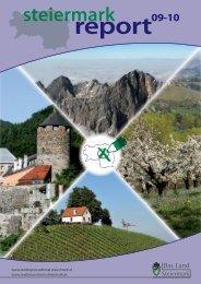 Steiermark Report September 2010 - doppelseitige Ansicht