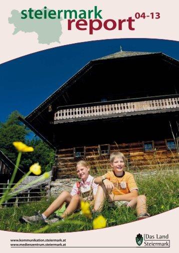 Steiermark Report April 2013 - einseitige Ansicht - Kommunikation ...