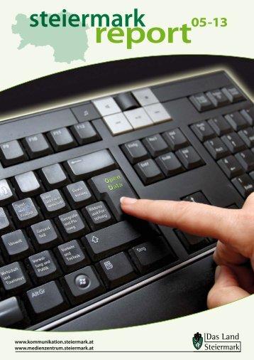 Steiermark Report Mai 2013 - einseitige Ansicht - Kommunikation ...