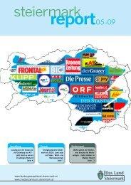 Steiermark Report Mai 2009 - einseitige Ansicht - Kommunikation ...