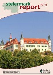 Steiermark Report Oktober 2013 - doppelseitige Ansicht (für größere