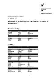Liste der Abschlüsse (pdf, 53KB) - Abteilung Kommunikation