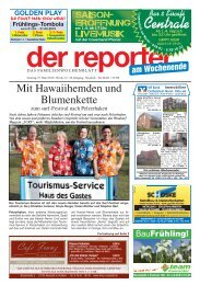 Mit Hawaiihemden und Blumenkette - Der Reporter