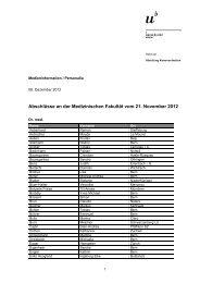 Liste der Abschlüsse (pdf, 93KB) - Abteilung Kommunikation