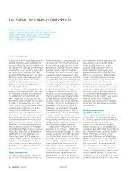 Politologie: Die Fallen der direkten Demokratie. (pdf, 1.1 MB)