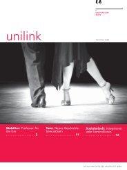 unilink November herunterladen (pdf, 665KB) - Abteilung ...