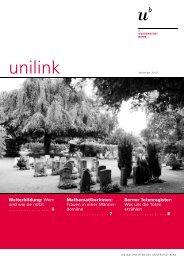 unilink November herunterladen (pdf, 1.0 MB) - Abteilung ...