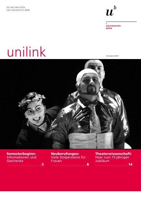 unilink Oktober herunterladen (pdf, 1MB) - Abteilung Kommunikation ...