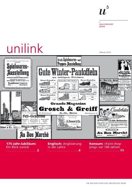 unilink Februar herunterladen (pdf, 1.2 MB) - Abteilung ...
