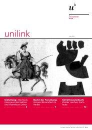 unilink Mai herunterladen (pdf, 866KB) - Abteilung Kommunikation ...
