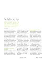 Aus Tradition wird Trend (pdf, 4.3 MB) - Universität Bern