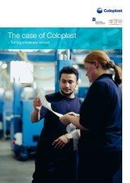 The case of Coloplast - Dansk Kommunikationsforening