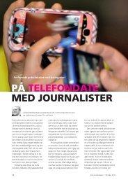 PÁ TELEFONDATE MED JOURNALISTER