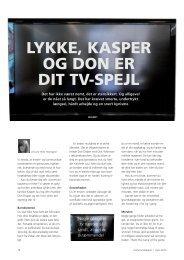 LYKKE, KASPER OG DON ER DIT TV4SPEJL