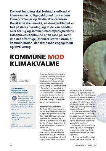 KOMMUNE MOD KLIMAKVALME - Dansk Kommunikationsforening
