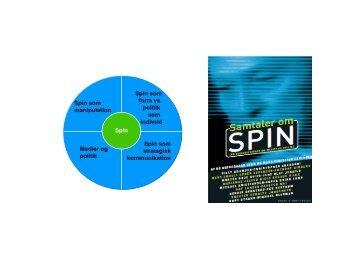 Spin som manipulation Spin som strategisk kommunikation Spin ...