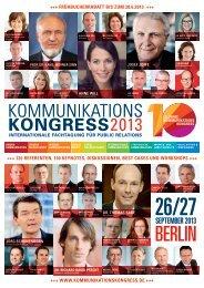 Exzellenz - Kommunikationskongress