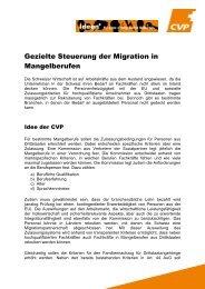 Factsheet - CVP