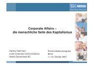 Hartmut Gahmann - Kommunikationskongress