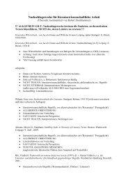 Nachschlagewerke für literaturwissenschaftliche Arbeit