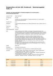 Diese Seminare - Institut für Allgemeine und Vergleichende ...